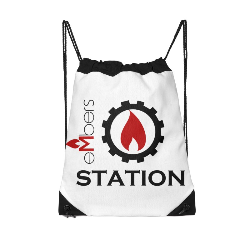 eMbers Station Accessories Drawstring Bag Bag by eMbers Station Swag Shop