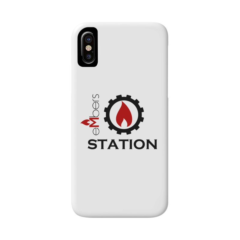 eMbers Station Accessories Phone Case by eMbers Station Swag Shop