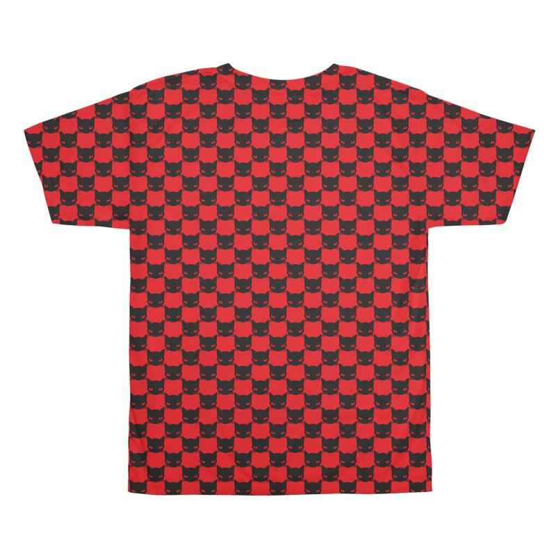 #KITTYCHEX RED/BLACK Men's All Over Print by Emily the Strange OFFICIAL