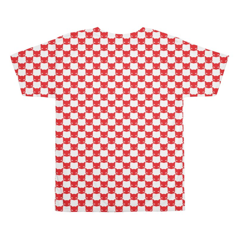 #KITTYCHEX RED/WHITE Men's All Over Print by Emily the Strange OFFICIAL