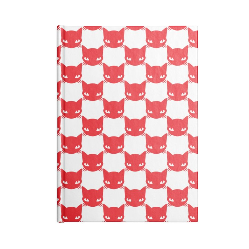 #KITTYCHEX RED/WHITE Accessories Notebook by Emily the Strange OFFICIAL