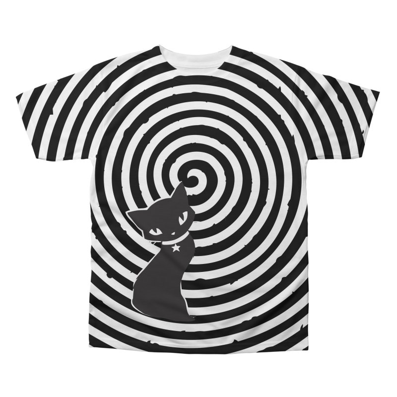 HYPNO KITTY Men's Regular All Over Print by Emily the Strange OFFICIAL
