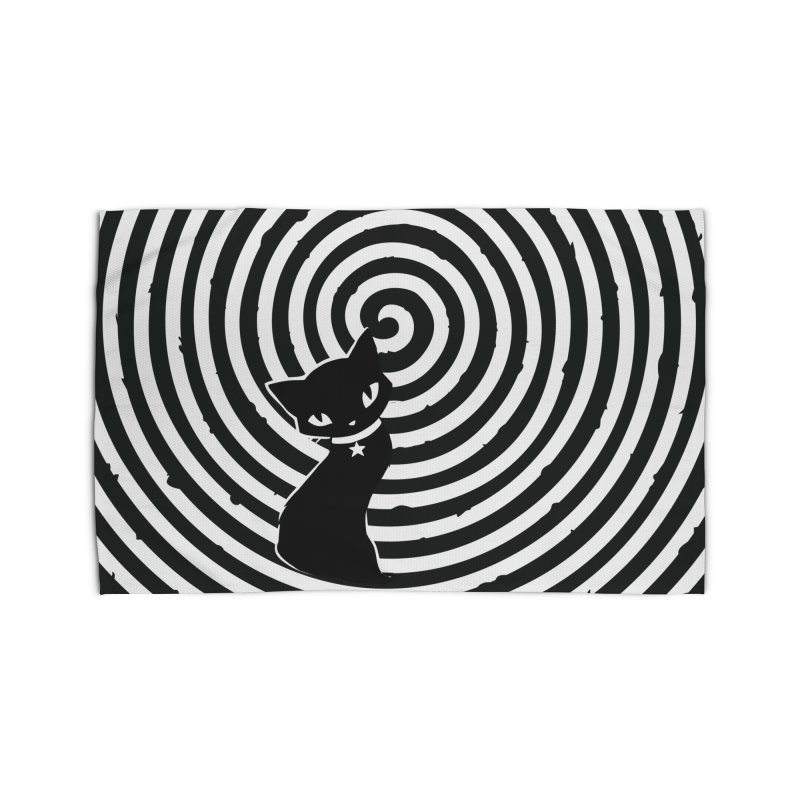 HYPNO KITTY Home Rug by Emily the Strange OFFICIAL