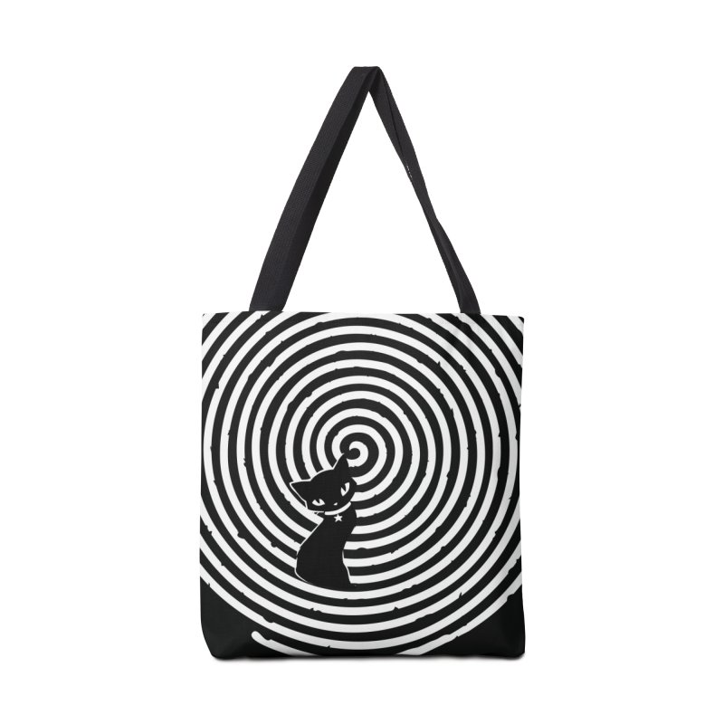 HYPNO KITTY Accessories Tote Bag Bag by Emily the Strange OFFICIAL