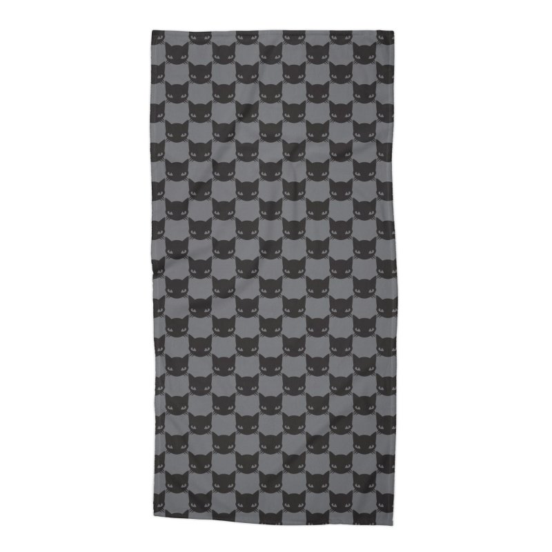 #KITTYCHEX GREY/BLACK Accessories Beach Towel by Emily the Strange OFFICIAL