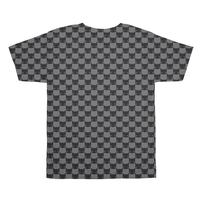 #KITTYCHEX GREY/BLACK Men's All Over Print by Emily the Strange OFFICIAL