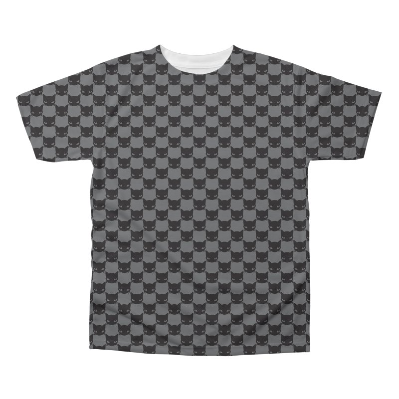 #KITTYCHEX GREY/BLACK Men's Regular All Over Print by Emily the Strange OFFICIAL
