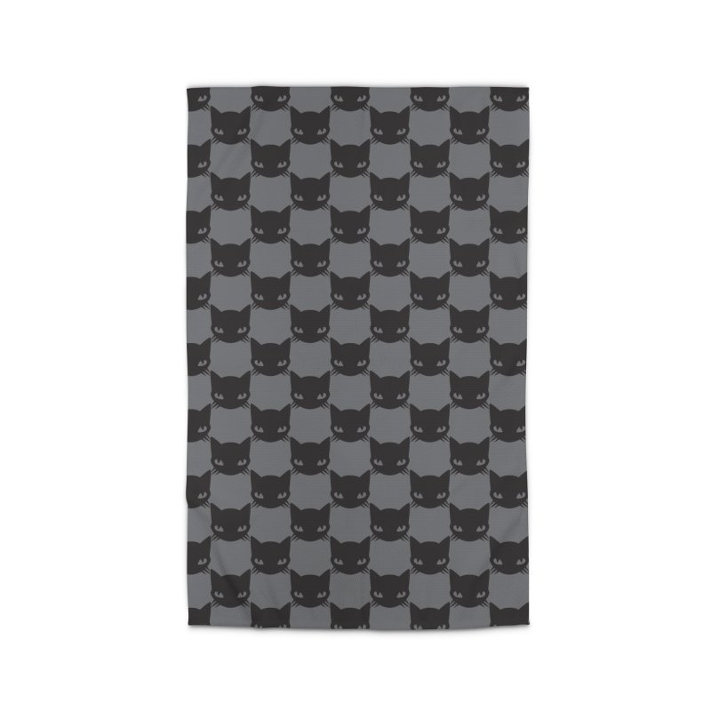 #KITTYCHEX GREY/BLACK Home Rug by Emily the Strange OFFICIAL