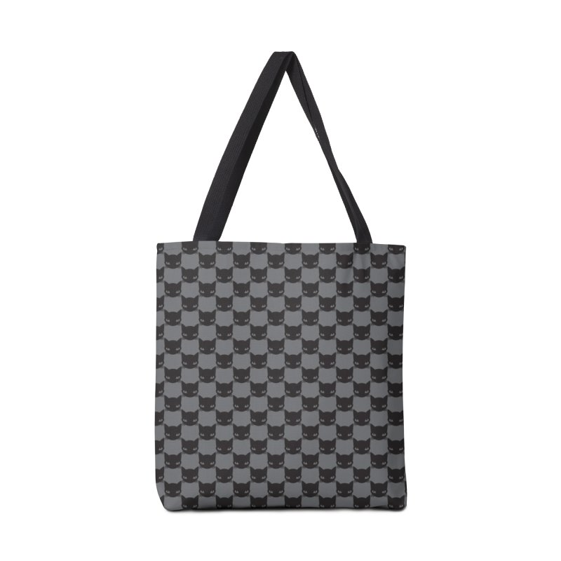 #KITTYCHEX GREY/BLACK Accessories Tote Bag Bag by Emily the Strange OFFICIAL