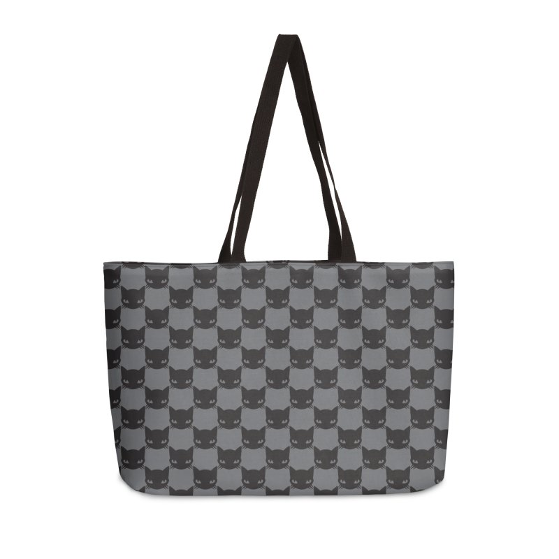 #KITTYCHEX GREY/BLACK Accessories Weekender Bag Bag by Emily the Strange OFFICIAL