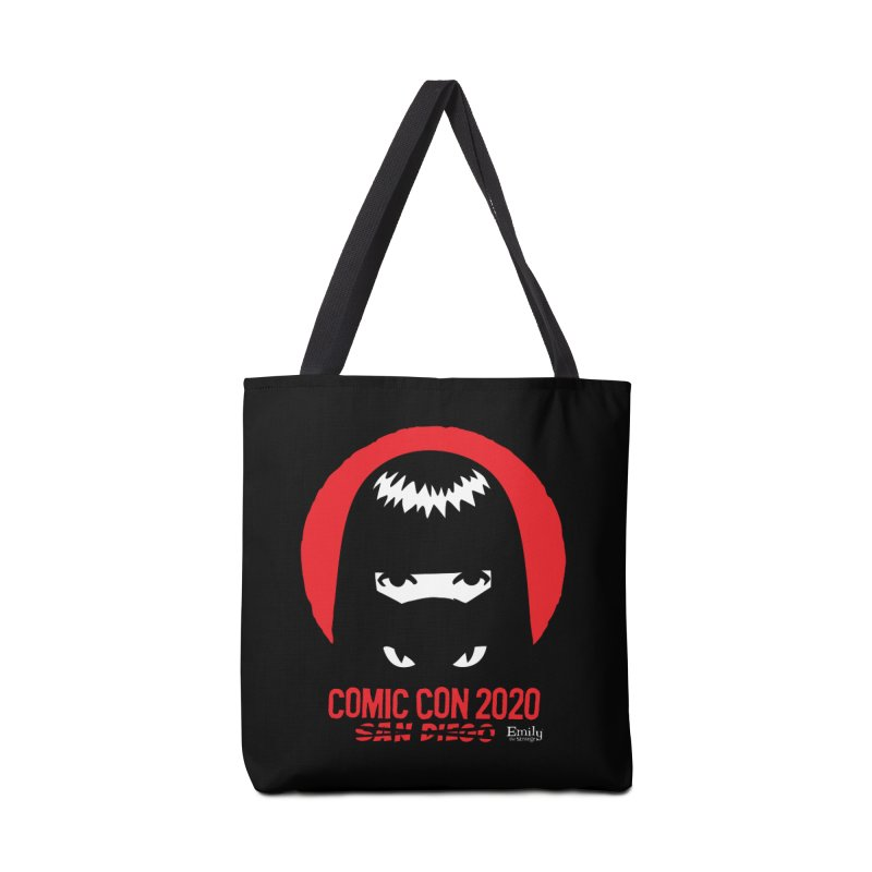 Cat Mask Comic Con 2020 Special Edition Accessories Bag by Emily the Strange Official
