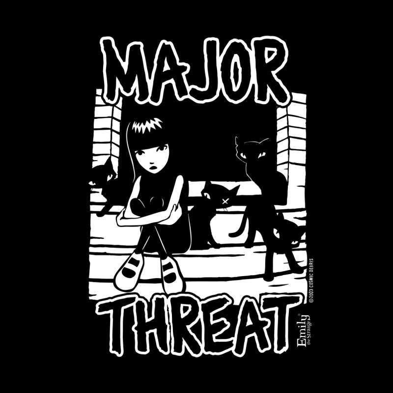 Major Threat Accessories Notebook by Emily the Strange Official