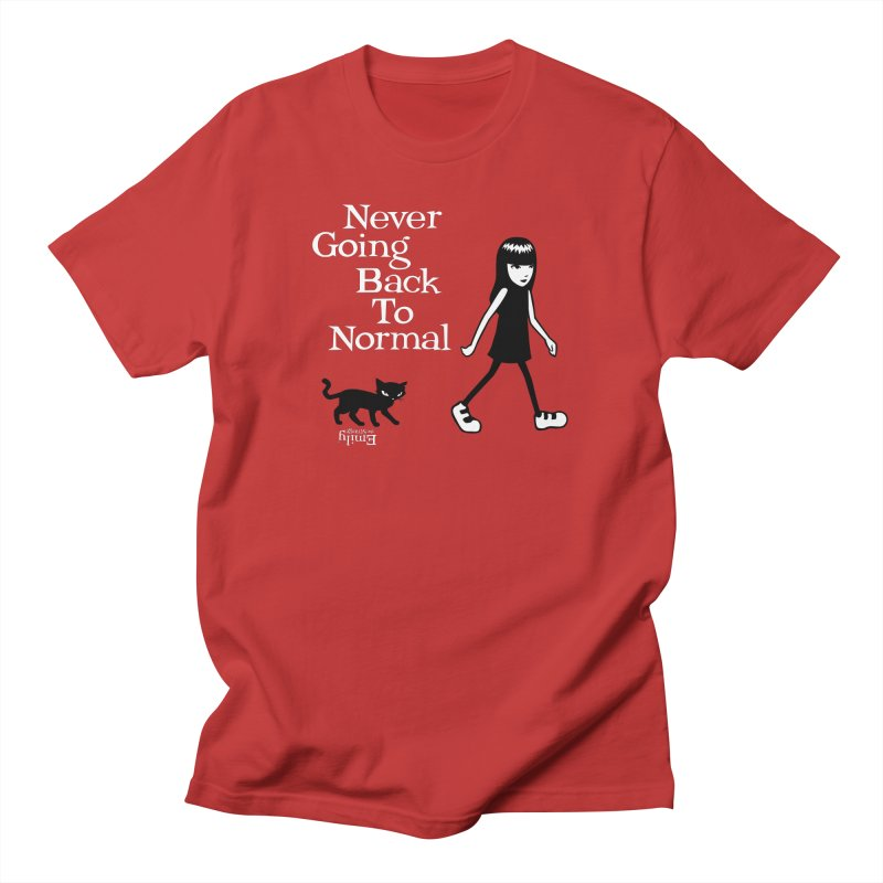 Never Going Back To Normal Men's T-Shirt by Emily the Strange Official