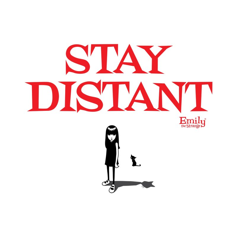 Stay Distant Men's T-Shirt by Emily the Strange Official