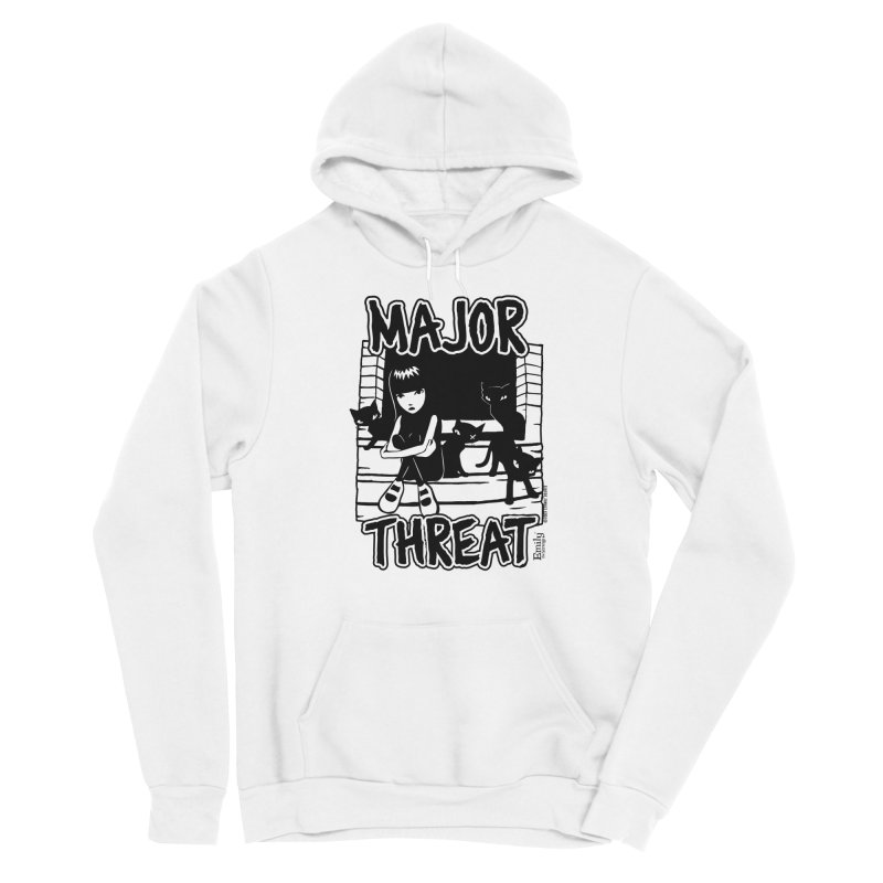 Major Threat Men's Pullover Hoody by Emily the Strange Official