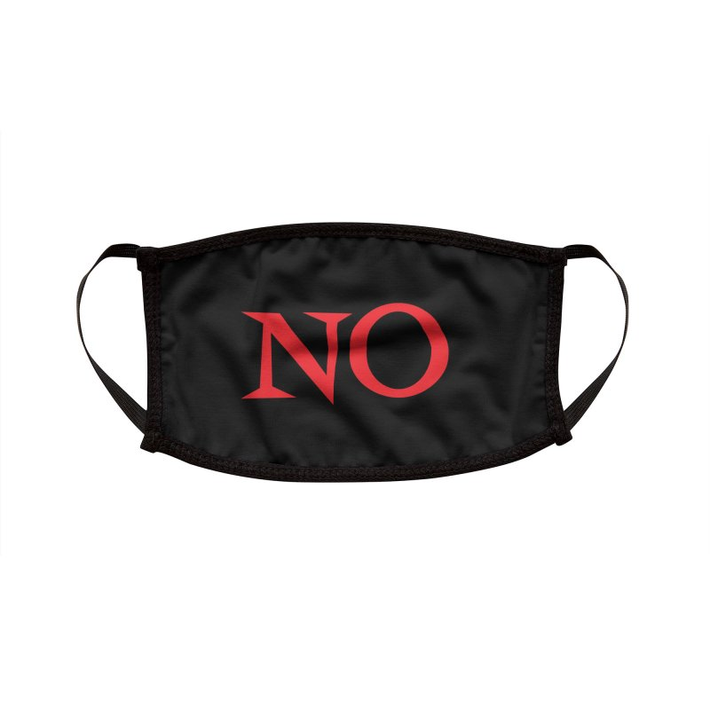 No Accessories Face Mask by Emily the Strange Official