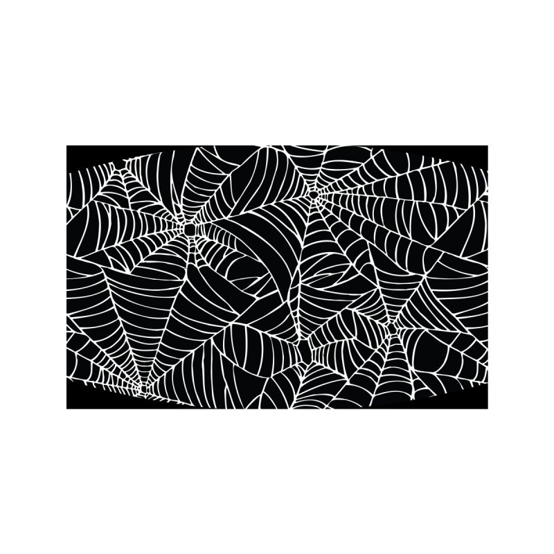 Spiderwebs Accessories Face Mask by Emily the Strange Official
