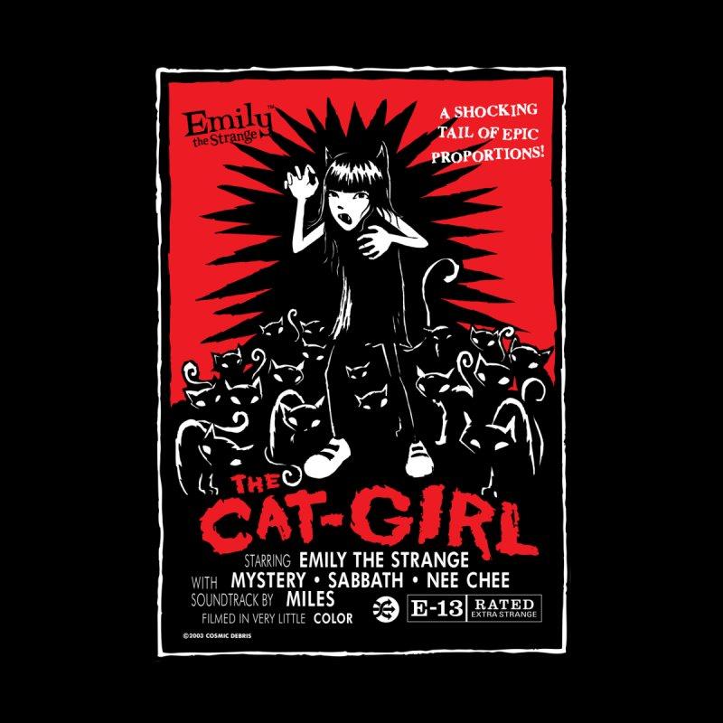 The Cat Girl Men's Sweatshirt by Emily the Strange Official