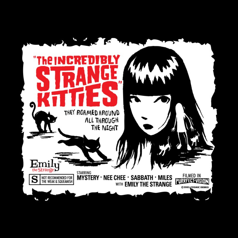 Incredibly Strange Kitties Women's T-Shirt by Emily the Strange Official