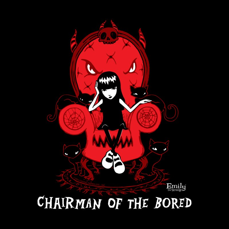 Chairman Of The Bored Men's T-Shirt by Emily the Strange Official