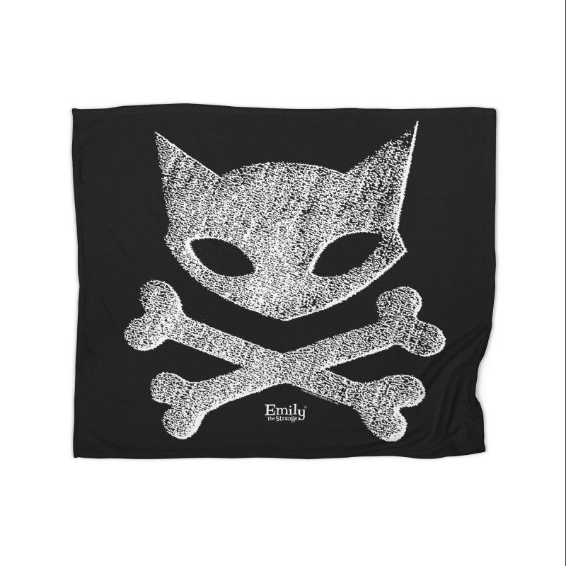 Kitty Crossbones Home Blanket by Emily the Strange Official