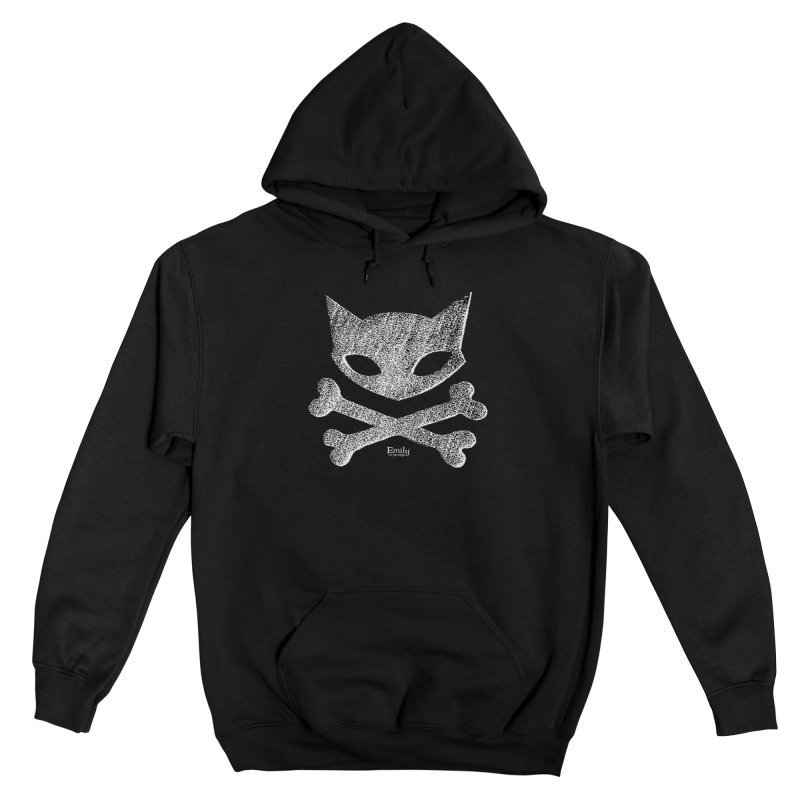 Kitty Crossbones Women's Pullover Hoody by Emily the Strange Official