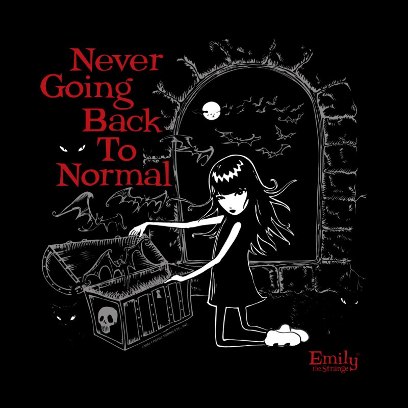 Never Going Back To Normal Batty Women's Sweatshirt by Emily the Strange Official