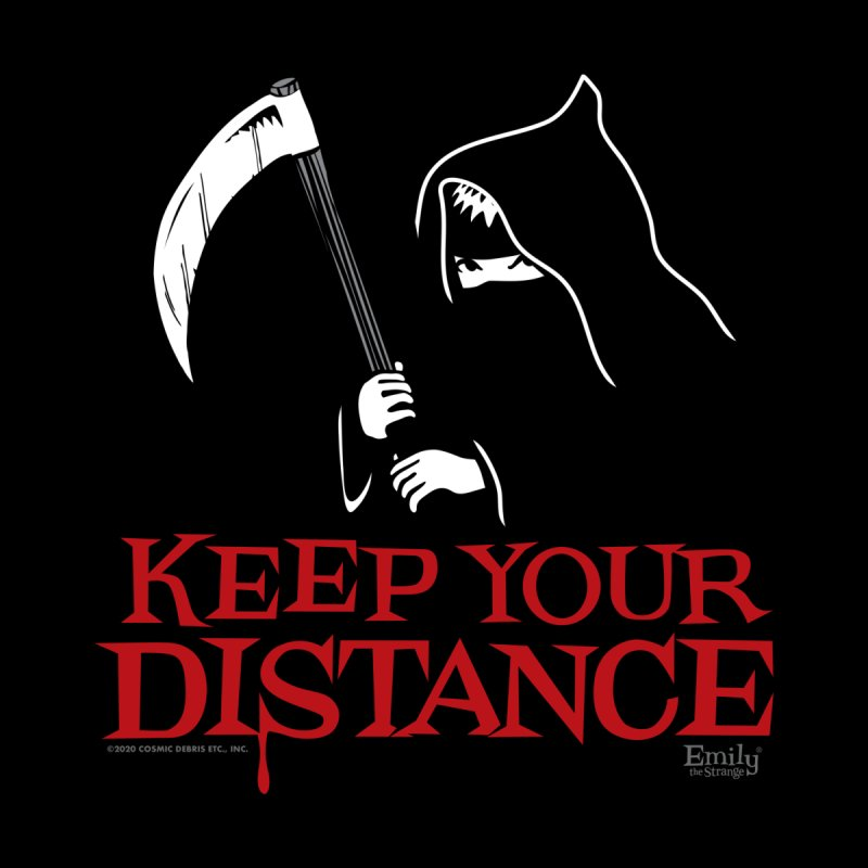 Keep your Distance Grim Reaper Women's Scoop Neck by Emily the Strange Official