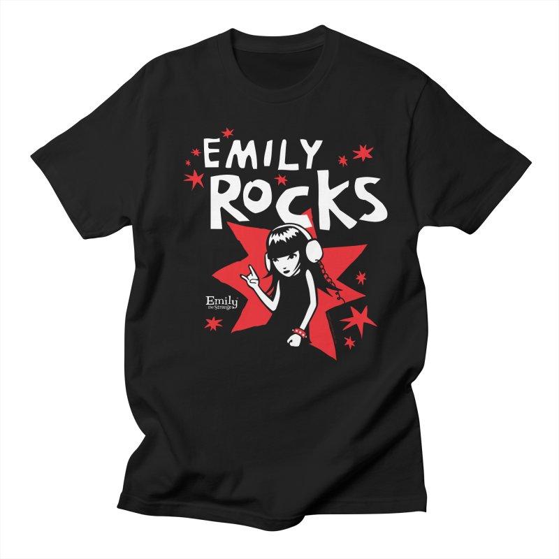 Emily Rocks Men's T-Shirt by Emily the Strange Official