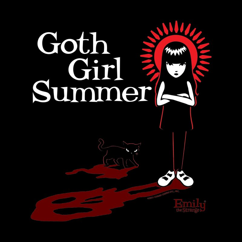 Goth Girl Summer -Black Women's T-Shirt by Emily the Strange Official