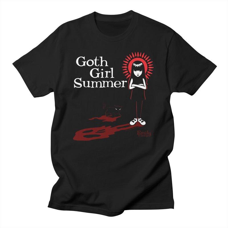 Goth Girl Summer -Black Men's T-Shirt by Emily the Strange Official