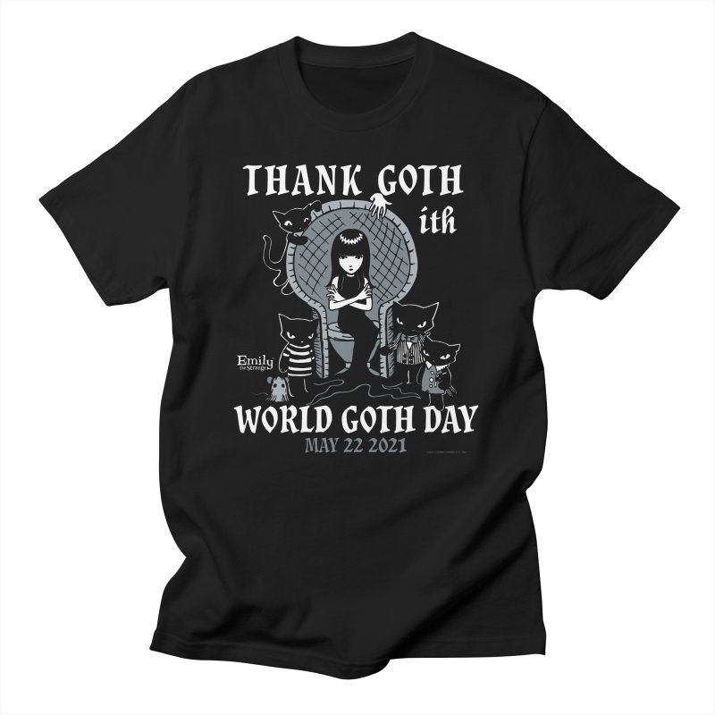 Thank Goth Ith World Goth Day Men's T-Shirt by Emily the Strange Official