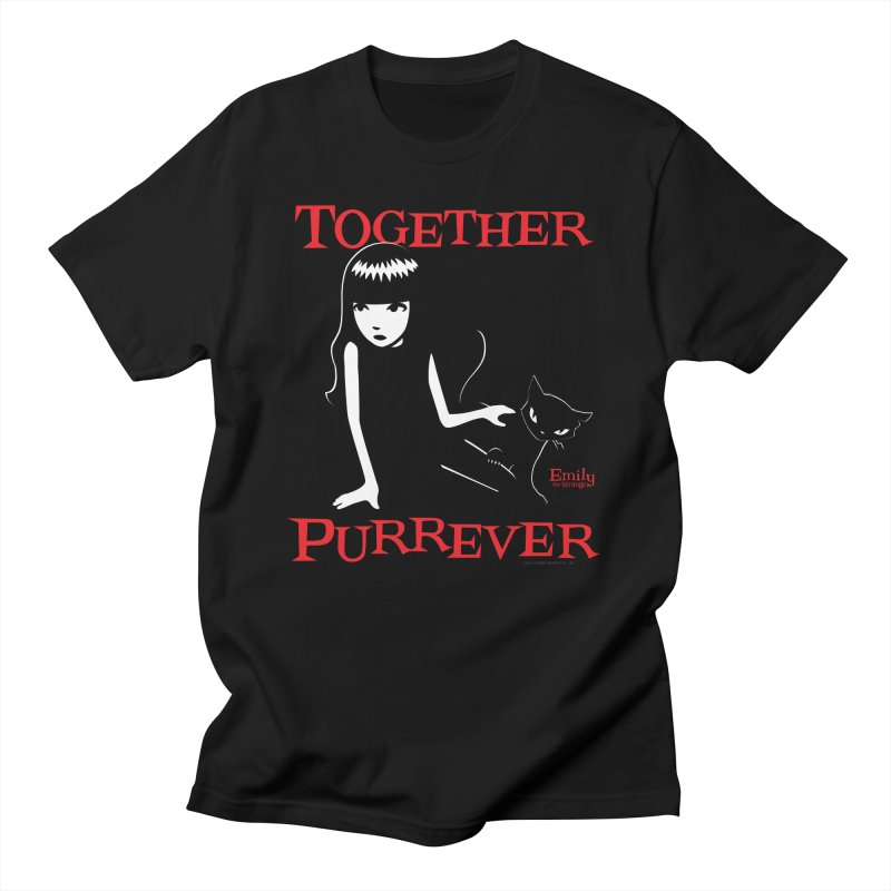 Together Purrever Men's T-Shirt by Emily the Strange Official