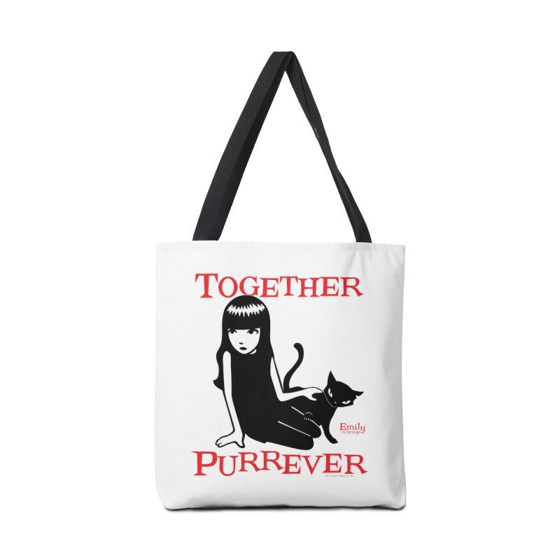 Together Purrever (White) Accessories Bag by Emily the Strange Official