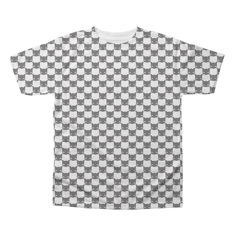 #KITTYCHEX Men's Triblend All Over Print by Emily the Strange OFFICIAL