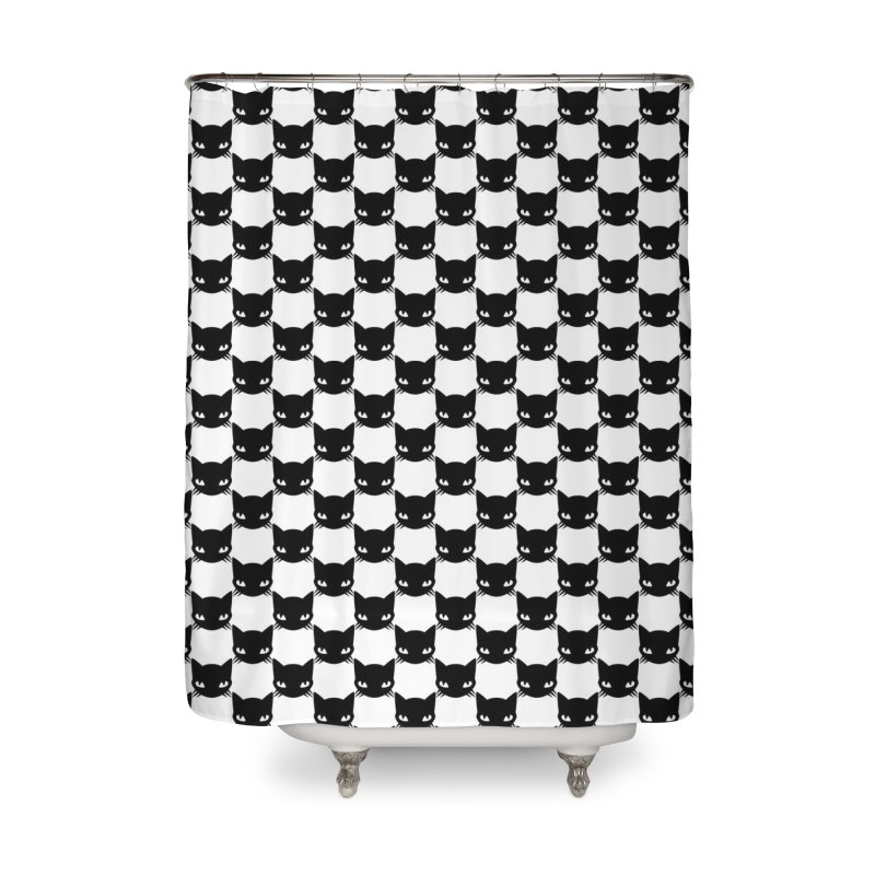 #KITTYCHEX Home Shower Curtain by Emily the Strange Official