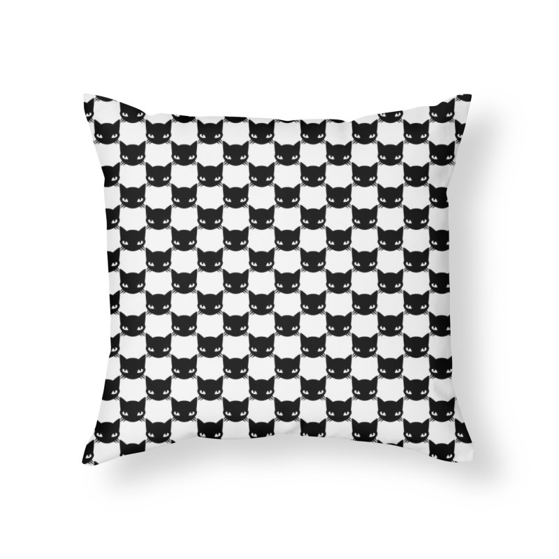 #KITTYCHEX Home Throw Pillow by Emily the Strange OFFICIAL