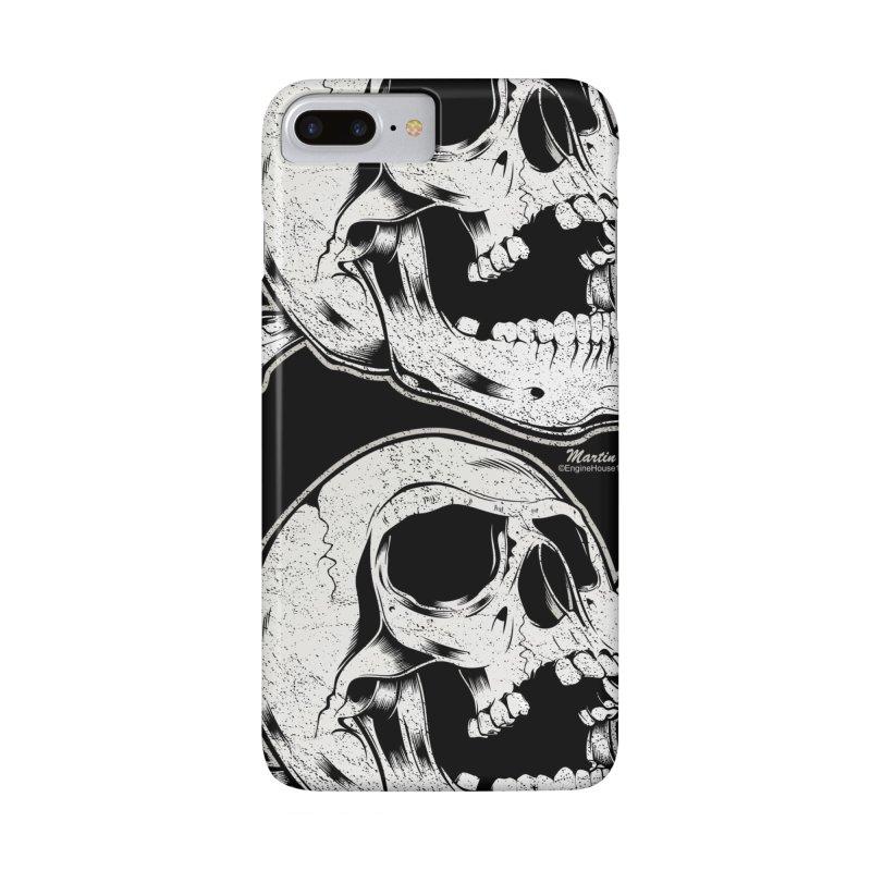 Rock-N-Skull in iPhone 7 Plus Phone Case Slim by EngineHouse13's Artist Shop