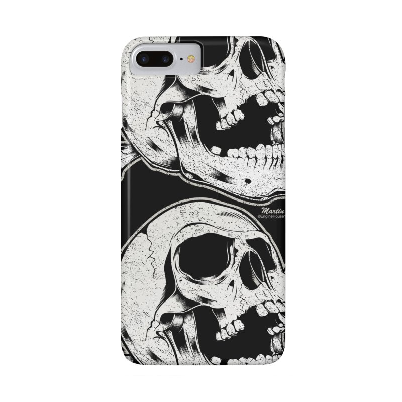 Rock-N-Skull in iPhone 7 Plus Phone Case Slim by EngineHouse13's Artist Shop