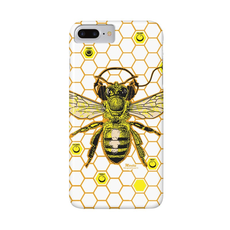 Hive Jam in iPhone 7 Plus Phone Case Slim by EngineHouse13's Artist Shop
