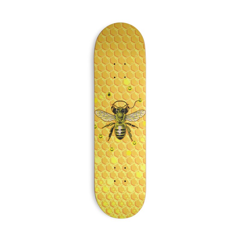 Hive Jam in Deck Only Skateboard by EngineHouse13's Artist Shop