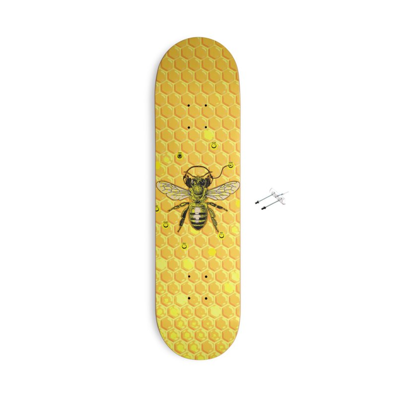Hive Jam Accessories With Hanging Hardware Skateboard by EngineHouse13's Artist Shop