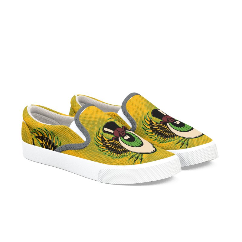 Fall Tour Women's Slip-On Shoes by EngineHouse13's Artist Shop
