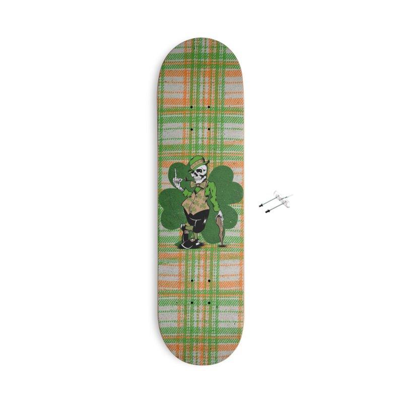 Irish Flipper Accessories Skateboard by EngineHouse13's Artist Shop
