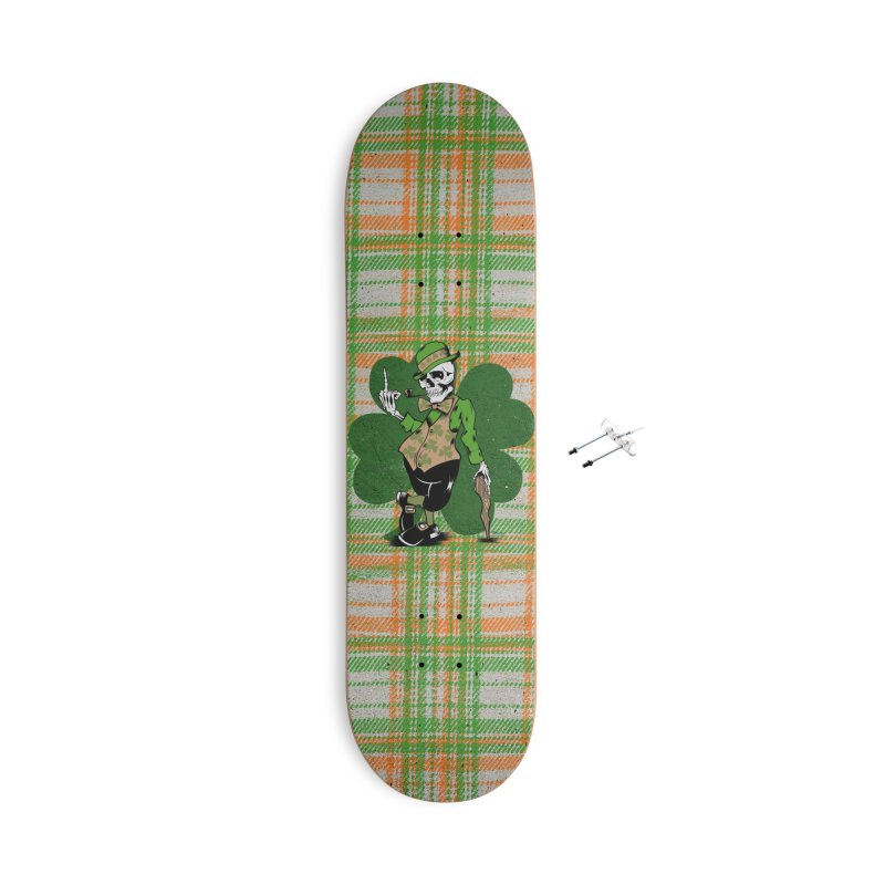 Irish Flipper Accessories With Hanging Hardware Skateboard by EngineHouse13's Artist Shop