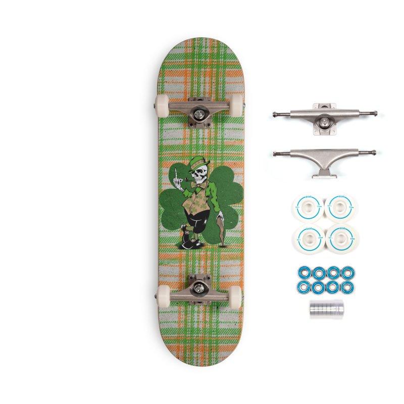 Irish Flipper Accessories Complete - Basic Skateboard by EngineHouse13's Artist Shop