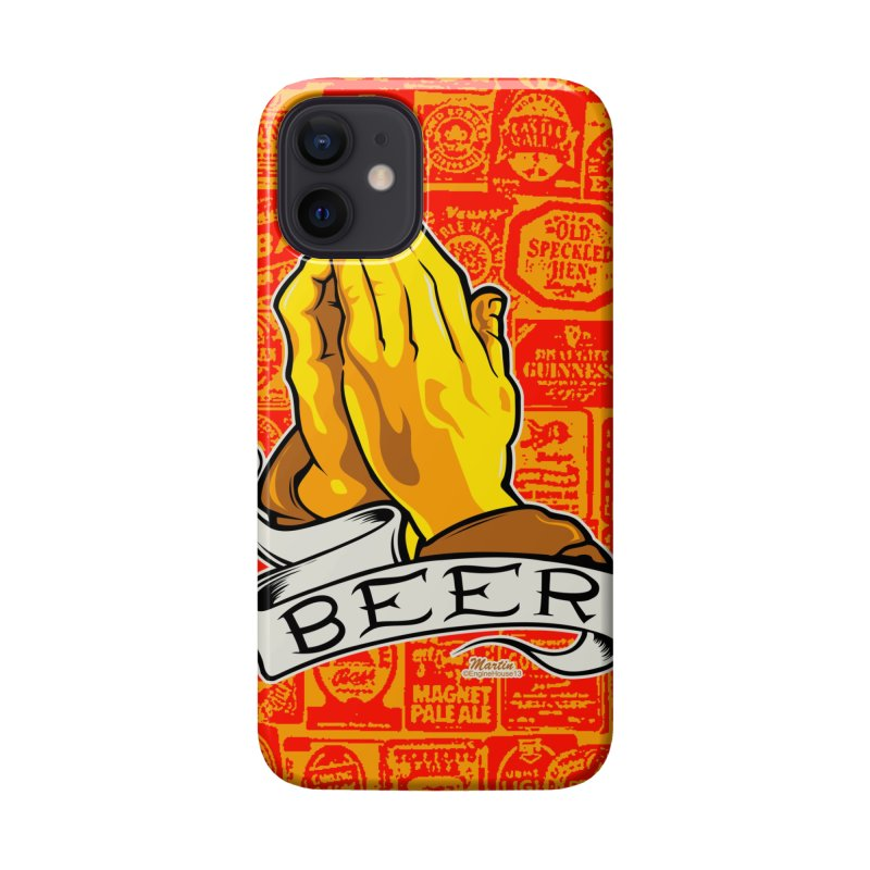 Pray For Beer Accessories Phone Case by EngineHouse13's Artist Shop