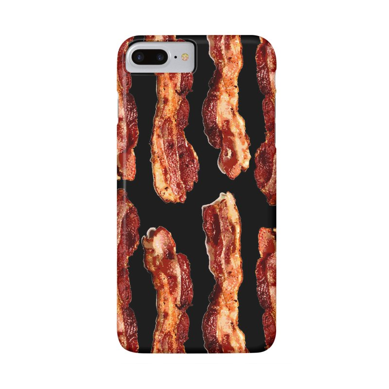 Bacon Flag in iPhone 7 Plus Phone Case Slim by EngineHouse13's Artist Shop