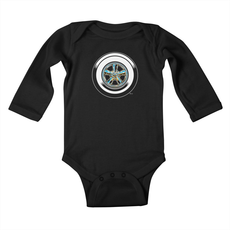 Wide Whites Kids Baby Longsleeve Bodysuit by EngineHouse13's Artist Shop