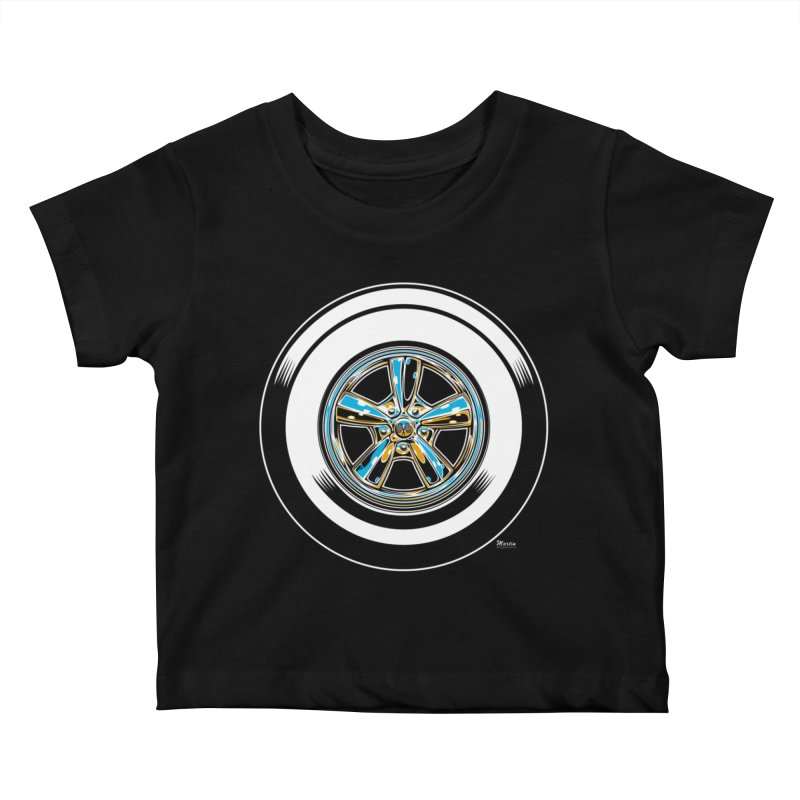 Wide Whites Kids Baby T-Shirt by EngineHouse13's Artist Shop